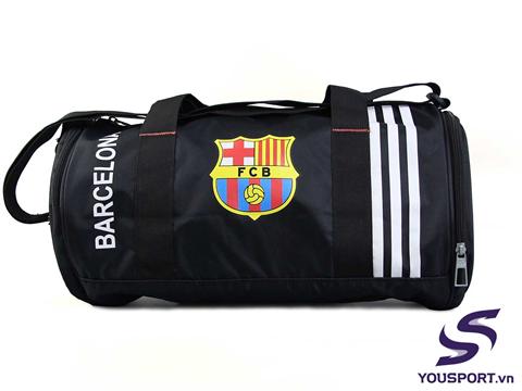 Túi Trống Barcelona Đen