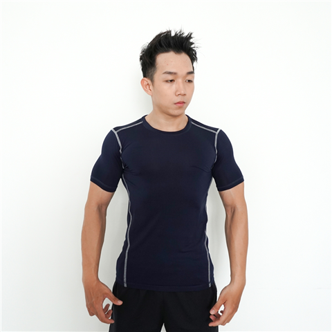 Áo Tập Gym Unique Apparel Base Layer Xanh Đen