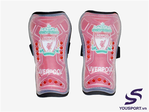 Rote Shin Guard Liverpool