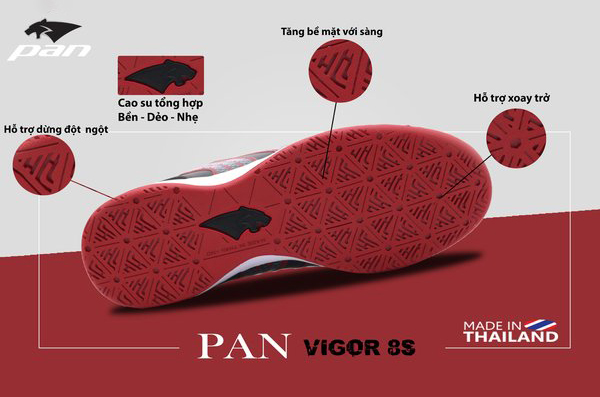 Giày Pan Vigor 8S IC