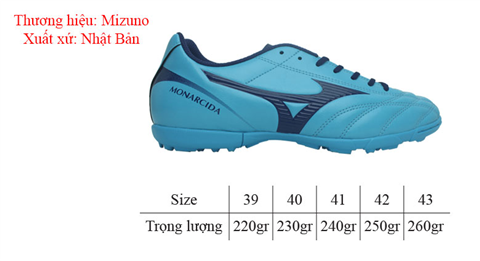 Giày Mizuno Monarcida 2 FS AS test 1