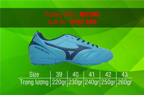 Giày Mizuno Monarcida 2 FS AS test 4