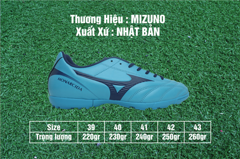 Giày Mizuno Monarcida 2 FS AS test 5