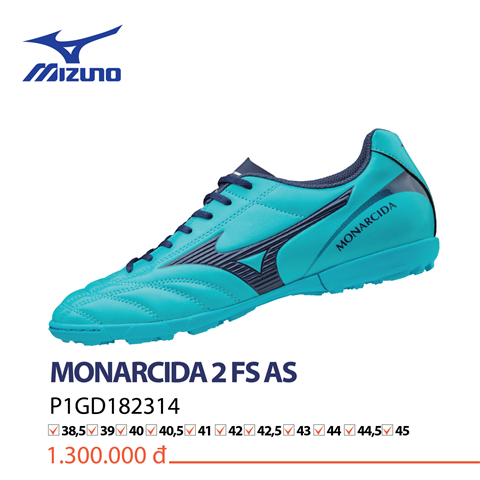 Giày Mizuno Monarcida 2 FS AS test 6