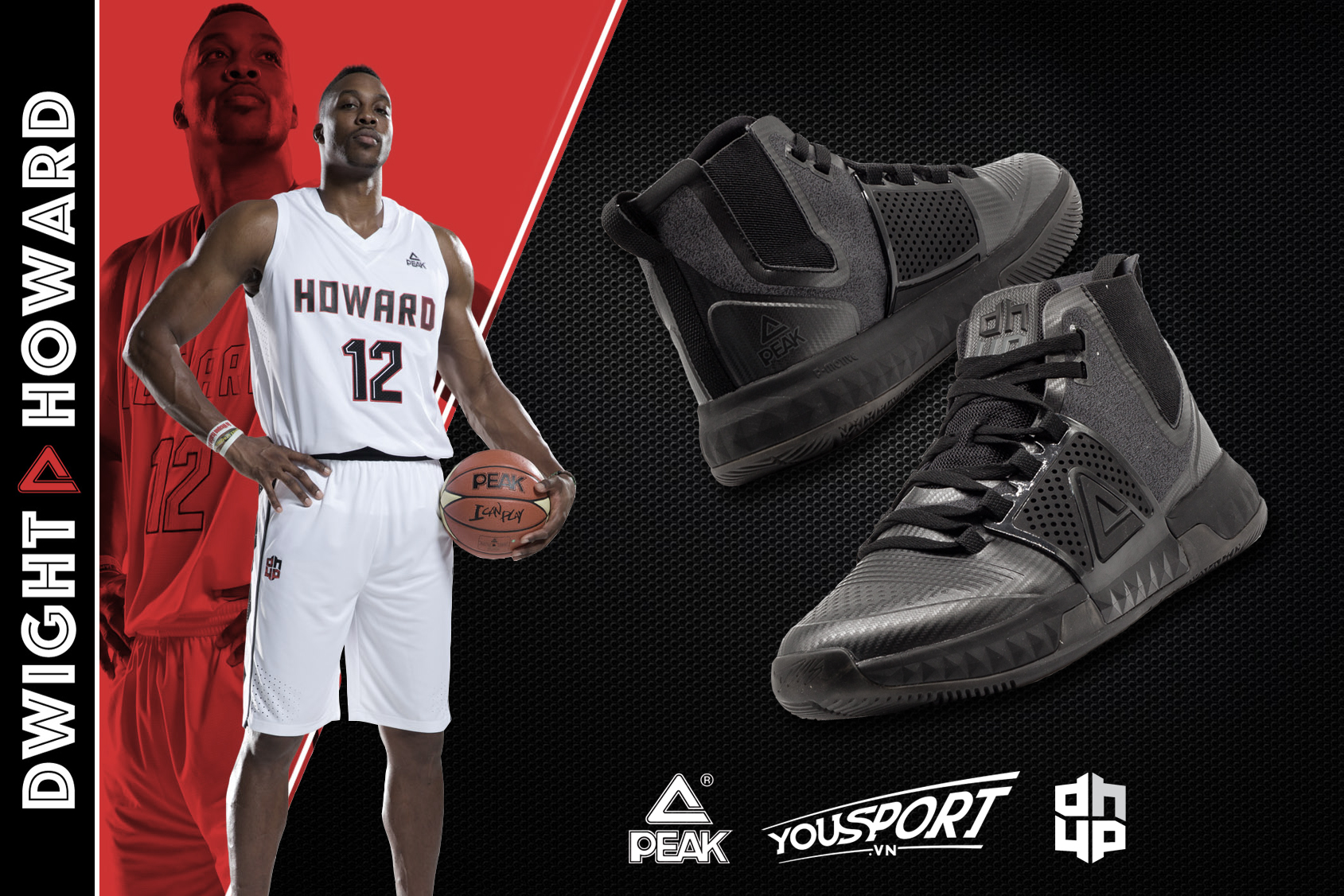 Giày Peak Dwight Howard 3 E74003A